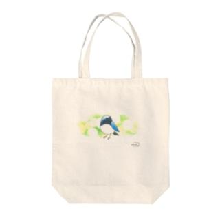 -ORURI No.1- Bird call Tote bags