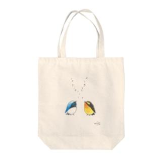 -ORURI and KIBITAKI- Bird call Tote bags