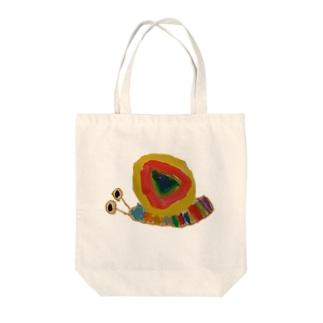 Wa-yu-のわーゆーかたつむり ーのーまるー Tote bags