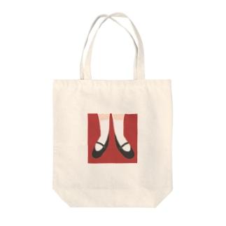 お靴 Tote bags