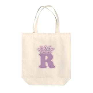 """アップルの""""R""""シリーズ Tote bags"""