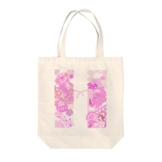 ちゃんちゃんこ Tote bags