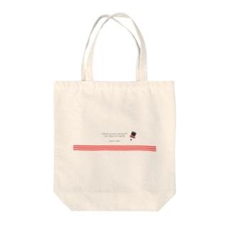 【 Aphorism】チャップリン Tote bags