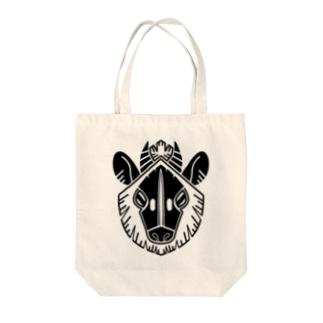 家紋風ニホンカモシカ Tote bags