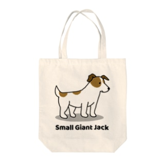 small giant jack Tote bags