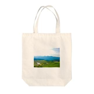 大自然 Tote bags