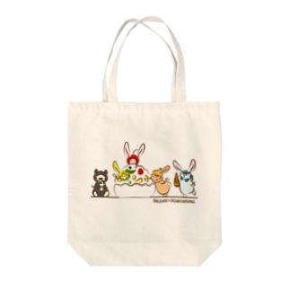 ご当地ねじゅみ 鹿児島 Tote bags