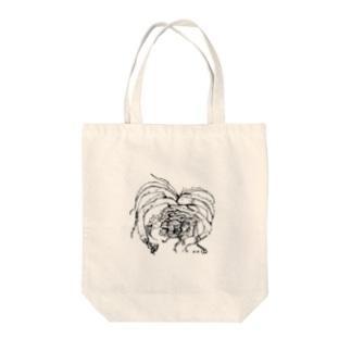 suprafoliata(スプラフォリアータ) ボタニカルアート Tote bags