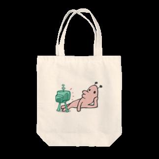 タキヲ@スタンプ販売「どうぶつくん」のどうぶつくん(テレビ) Tote bags