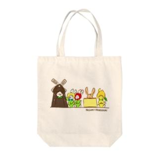 ご当地ねじゅみ 長崎 Tote bags