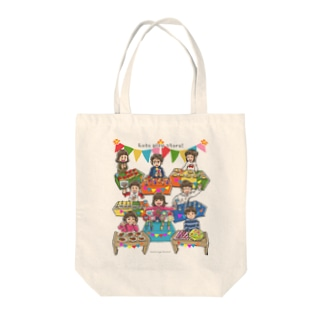 Let's play store!(片面印刷) Tote bags