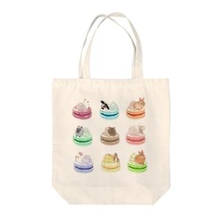 ウサベビイマカロン Tote bags