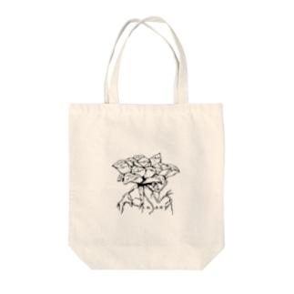 Haworthia(ハオルシア) ボタニカルアート Tote bags