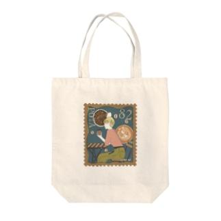 珈琲切手 Tote bags
