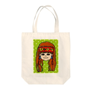 Indian Girl☆ Tote bags