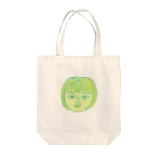 港町の少女 Tote bags