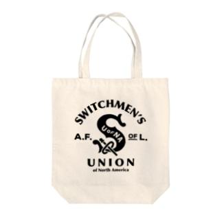 SWITCHMEN'S UNION Tote bags