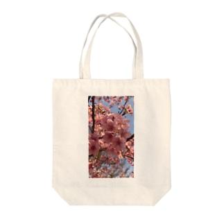 河津桜 Tote bags