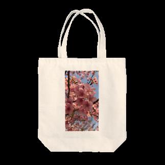 tekonaの河津桜 Tote bags