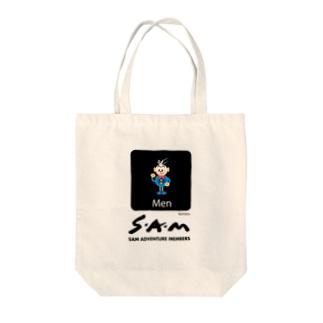NijimaroのSAM-MEN Tote bags
