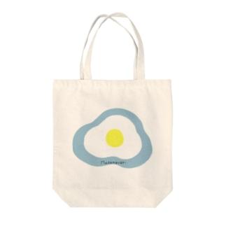 Medamayaki Tote bags