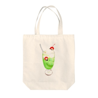 【TOMOGUI】メロメロソーダ Tote bags