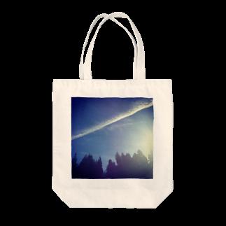 *Nijiiro records*の空かける。 Tote bags