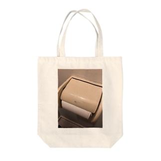 安寧を求めてシリーズ Tote bags