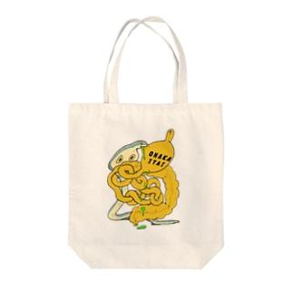 付き添いのヘビ Tote bags