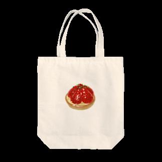kaoruhiranoのいちごタルト Tote bags
