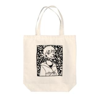 柄 トートバッグ Tote bags