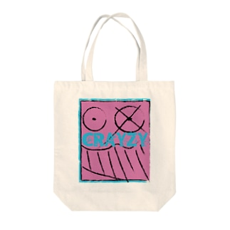 Crayzy Tote bags