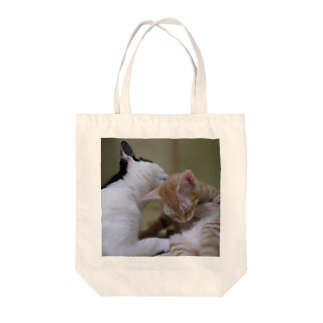 12cats-12secondsののりとくり太郎のトートバッグ Tote bags