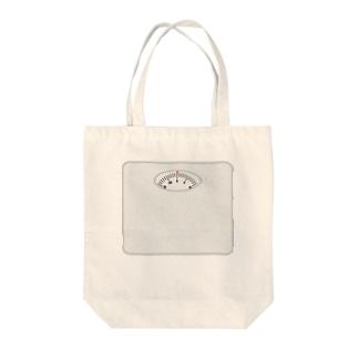 体重計 Tote bags