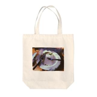 ランチタイム Tote bags