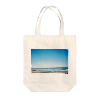 海の写真 Tote bags