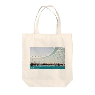 POOL - UAEシリーズ Tote bags