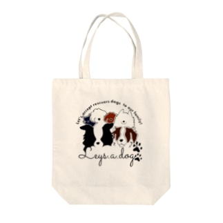 leys.a.dog〜チャリティーグッズ〜 Tote bags
