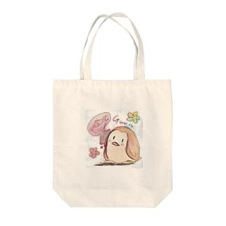 空腹ペンギン Tote bags