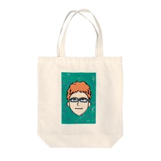 Cool guy☆ Tote bags