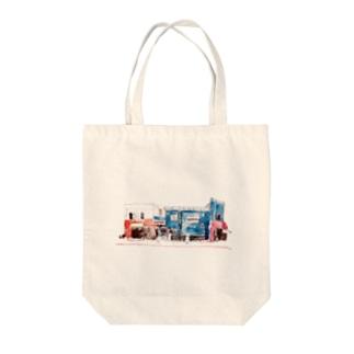 5丁目 Tote bags