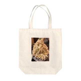 野菜マシマシ Tote bags