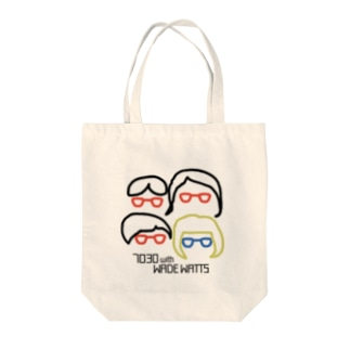 7030 with WWグッズ Tote bags