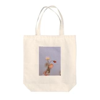 ポピーのお花 Tote bags