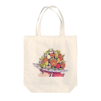 flower girl Tote bags