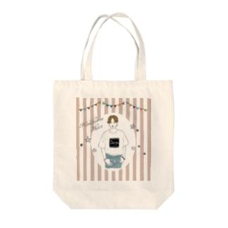 ハンサムショートちゃん Tote bags