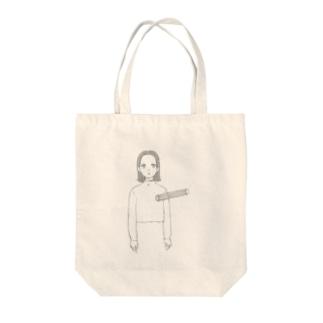 空洞〜 Tote bags