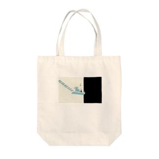 ラジオ・サイダー Tote bags