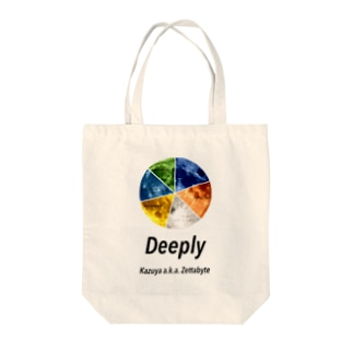 deeply Tote bags