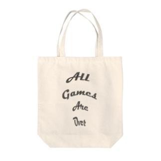 アソビハオワリ Tote bags